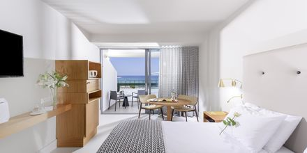 Kahden hengen huone. Hotelli Aquila Porto Rethymno, Kreeta, Kreikka.