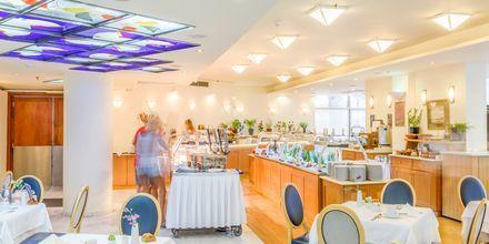 Pääravintola. Hotelli Aquila Porto Rethymno, Kreeta, Kreikka.
