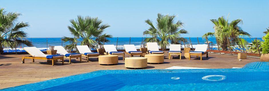 Allasalue. Hotelli Aquila Porto Rethymno, Kreeta, Kreikka.