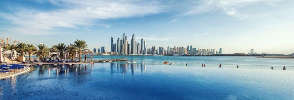Dubai Marina. Dubai, Arabiemiraatit.