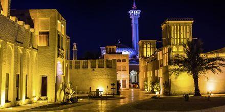 Al Bastakiya. Dubai, Arabiemiraatit.