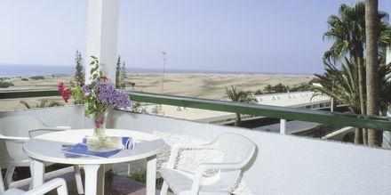 Parveke, Hotelli Arco Iris, Playa del Ingles, Gran Canaria.