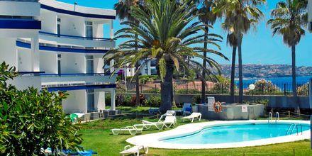 Yksi altaista, Hotelli Arco Iris, Playa del Ingles, Gran Canaria.