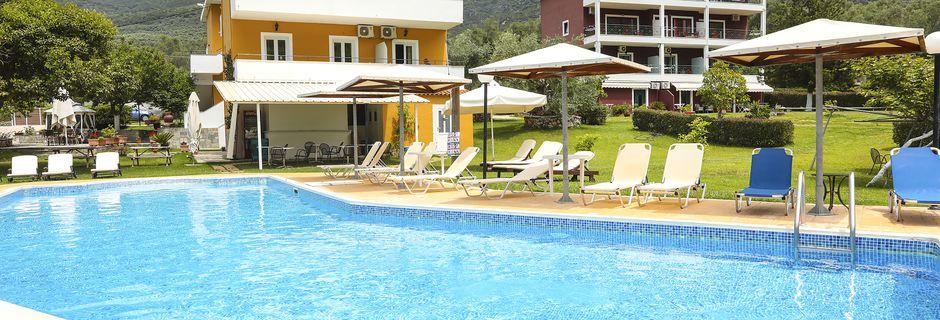 Hotelli Aristidis Garden, Parga.