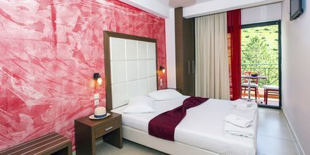 Kaksio, hotelli Aristidis Garden, Parga.
