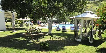 Allas, hotelli Aristidis Garden, Parga.