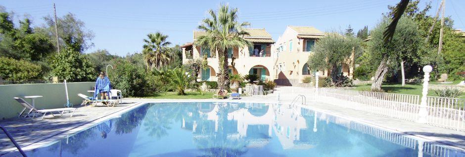 Hotelli Artemis, Korfu, Kreikka.