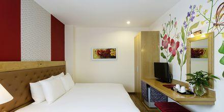 Kahden hengen huone, hotelli Asian Ruby Select. Saigon, Vietnam.
