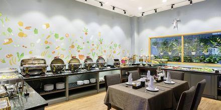 Ravintola, hotelli Asian Ruby Select. Saigon, Vietnam.