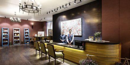 Aula, hotelli Asian Ruby Select. Saigon, Vietnam.