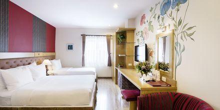 Deluxe -huone, hotelli Asian Ruby Select. Saigon, Vietnam.