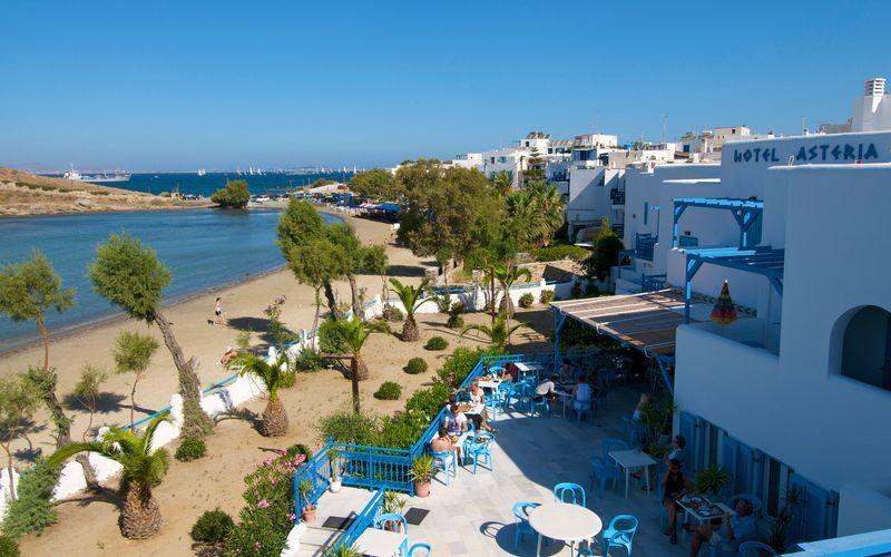 Hotelli Asteria, Naxoksen kaupunki, Kreikka.