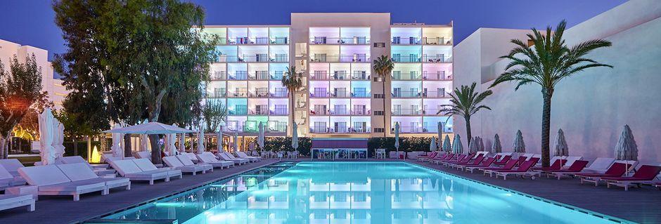 Hotelli Astoria Playa, Alcudia, Mallorca.