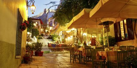 Ravintoloita Plakassa, Ateenassa.