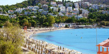 Vouliagmenin rantakohde aivan Ateenan ulkopuolella.