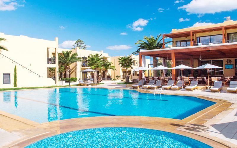 Uima-allas, Hotelli Atlantis Beach, Rethymnon, Kreeta.