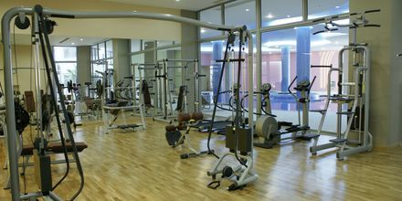 Kuntosali, Hotelli Atrium Platinum, Ixia, Rodos.