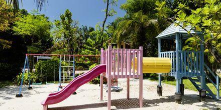 Leikkipaikka. Hotelli Baan Khaolak Beach Resort, Thaimaa.