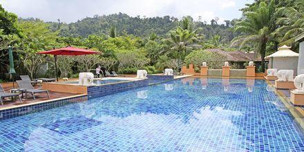 Allasalue. Hotelli Baan Khaolak Beach Resort, Thaimaa.
