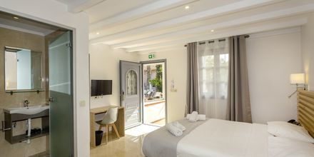 Yksiö. Hotelli Bacoli, Parga, Kreikka.