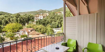 Näkymä hotellilta. Hotelli Bacoli, Parga, Kreikka.