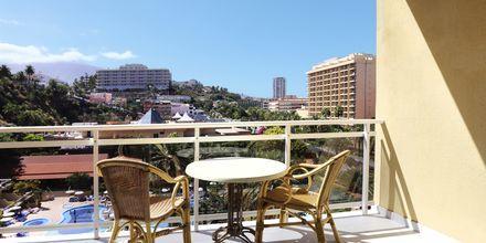 Näkymä parvekkeelta. Hotelli Bahia Principe Sunlight San Felipe, Puerto de la Cruz, Teneriffa.