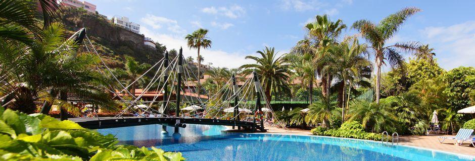 Allasalue. Hotelli Bahia Principe Sunlight San Felipe, Puerto de la Cruz, Teneriffa.