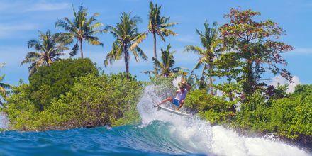 Surffaaminen Balilla on mieleenpainuva kokemus.