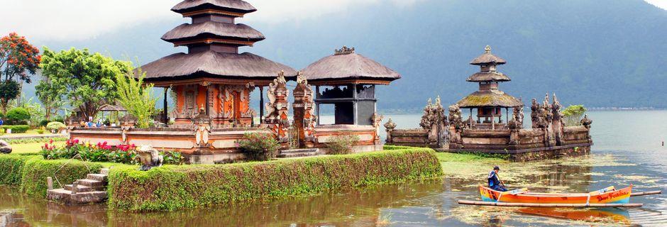 Pura Butanin temppeli. Bali, Indonesia.