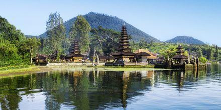 Ulu Danu temppeli. Bali, Indonesia.