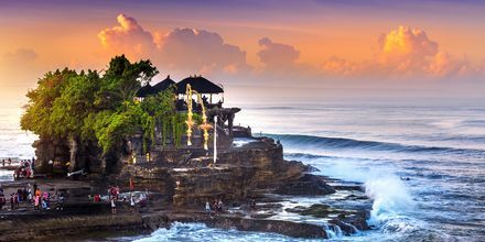 Tanah Lotin temppeli. Bali, Indonesia.