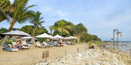 Läheinen ranta. Hotelli Bali Reef Resort, Tanjung Benoa, Bali.