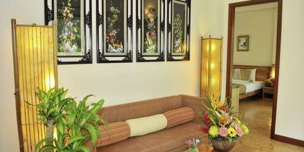 Deluxe huone bungalowissa, Bamboo Village Resort, Phan Thiet, Vietnam.