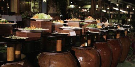 Buffetravintola, Bamboo Village Resort, Phan Thiet, Vietnam.