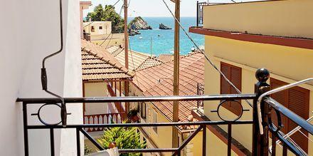 Näkymä hotellilta. Hotelli Baywatch, Parga, Kreikka.
