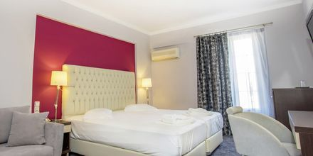 Deluxe-huone, Hotelli Bel Air, Lefkas, Kreikka.