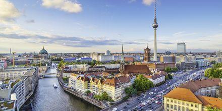 Näkymä Berliinin ylle