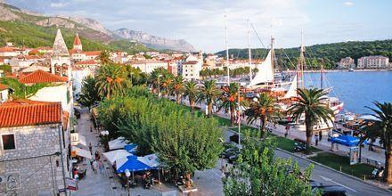 Maisema hotellista, Biokovo, Makarska.