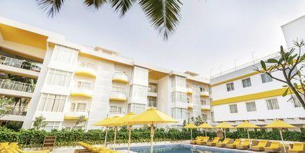 Allas, Hotelli Bloom Suites, Pohjois-Goa, Intia.