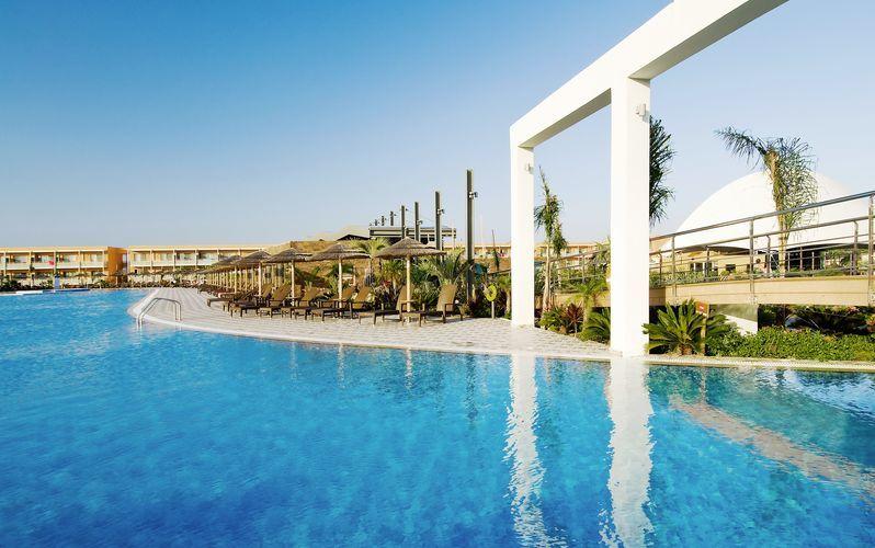 Allasalue. Hotelli Blue Lagoon Resort, Kos.