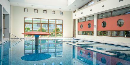 Sisäuima-allas, hotelli Blue Lagoon Resort, Lambi, Kos.