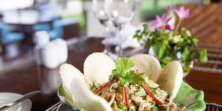 Maistele uusia annoksia. Blue Ocean Resort, Phan Thiet, Vietnam.