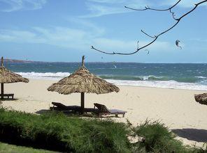Läheinen ranta. Blue Ocean Resort, Phan Thiet, Vietnam.