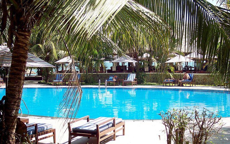 Allasalue. Blue Ocean Resort, Phan Thiet, Vietnam.