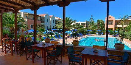 Välipalabaari, Hotelli Blue Sea Apartments, Platanias, Kreeta.