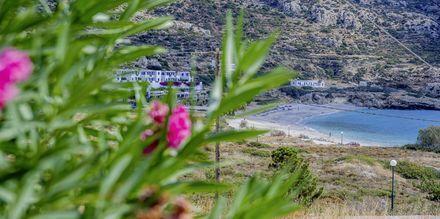 Näkymä, Blue Swan, Karpathos, Kreikka.