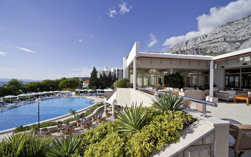 Hotelli Bluesun Afrodita, Tucepi, Kroatia.