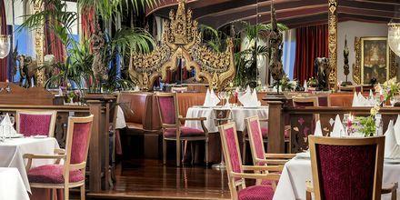 Aasialainen ravintola The Oriental. Hotelli Botanico, Puerto de la Cruz, Teneriffa.