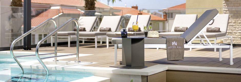 Allas, Hotelli Ani, Makarska, Kroatia