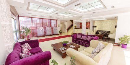 Aula, hotelli Brilant. Saranda, Albania.